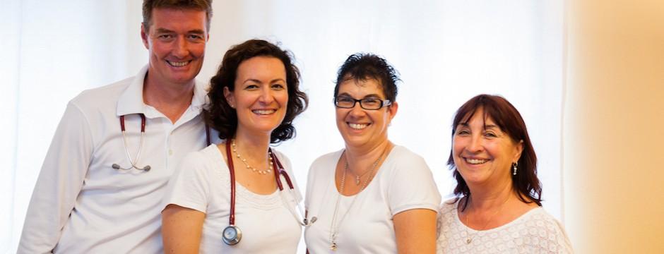 Das Team der kardiologischen Privatpraxis Dr. med. Martin Muser